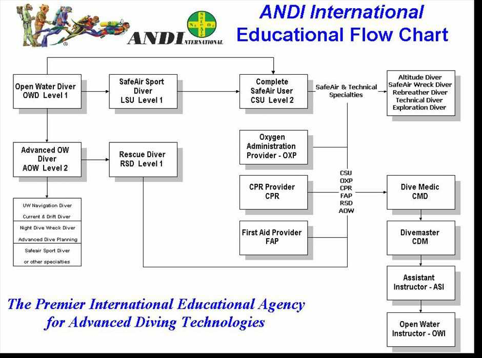 ANDI Recreational Diving Courses