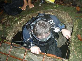 best cave diving instructor asia philippines thailand