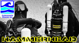 Hammerhead-rebreather ccr